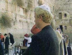 Geert Wilders au Mur des Lamentations