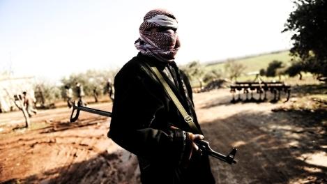 combattant de l'Armée Syrienne Libre